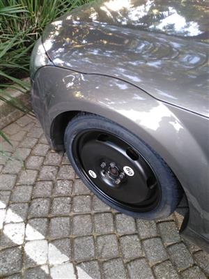 Audi TT Space Saver 18 inch Spare Wheel with Tyre and Boot Cover R3250