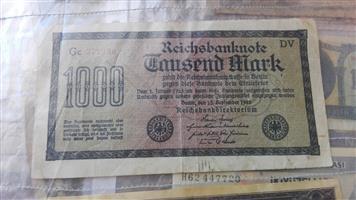 Reichstjek, 1923