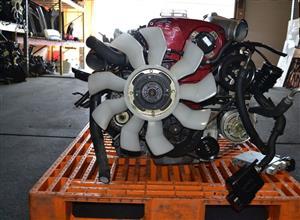 JDM NISSAN SKYLINE GT-R R34 2.6L TWIN TURBO ENGINE MANUAL AWD TRANS ECU JDM RB26DETT
