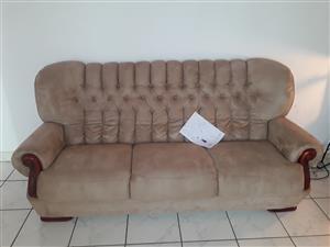 Beige lounge suite