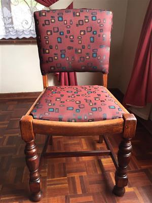 Teak single chair