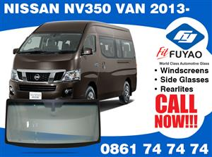 Brand new windscreen for sale and fitting for Nissan NV350 Van Taxi 2013- models #360292