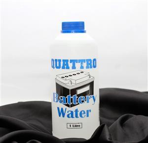 Quattro Battery Water 1L