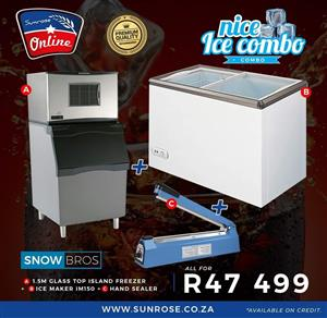 Ice Maker Start Up Business Combo for sale - Ice Cube Making Business