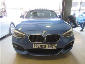 2015 BMW 1 Series 120d 5 door auto
