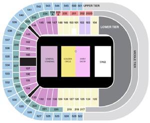 ed Sheeran tickets middle balcony