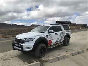 ford ranger d/cab canopy RSI