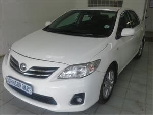 2010 Toyota Corolla 1.8 Exclusive auto