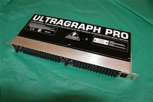 ULTRAGRAPH PRO FBQ1502 EQ with Feedback Detection Equaliser