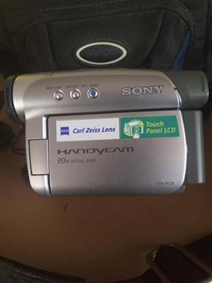 Sony handy cam.