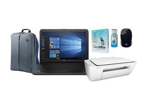 BARGAIN Brand new sealed HP LAPTOP BUNDLE IN BOX 4GB RAM 500GB HDD DVD Optical Drive Webcam Intel HD Graphics BUNDLE INCLUDES  HP 3 IN 1 Print