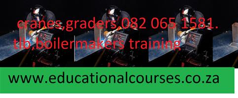 ARTISAN COURSES.EDUCATIONAL COURSE.CRANE.MACHINERY.0763282682.GRADER. CRANES.BOILERMAKER.WELDING COURSES.
