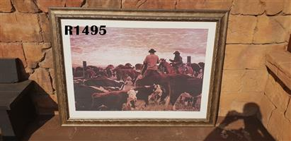 Big Cowboy Framed Picture (1500x1120)