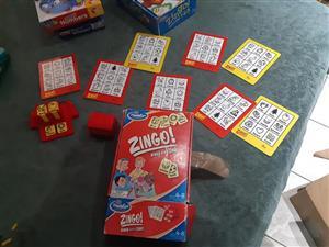 Zingo bingo for sale