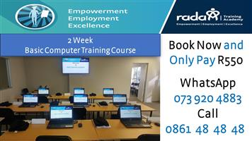 Introduction to computers training course: 01 October 2018