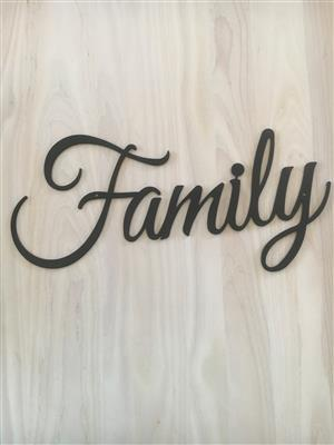 Stunning FAMILY SIGN