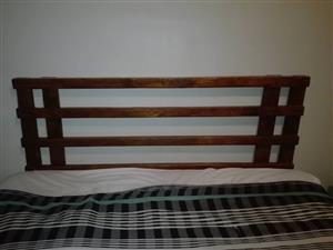 Wooden pallet headboard for sale