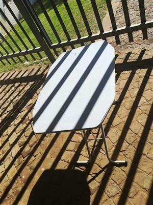 White fold up table for sale