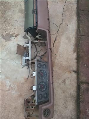 Datsun L1600 dash board clocks and fuse box