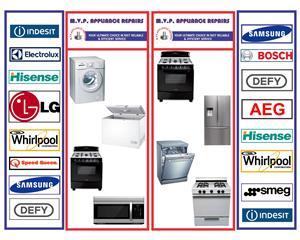 Appliance Experts: Defy, LG,Hisense, Samsung, Speed queen, 078 7445258