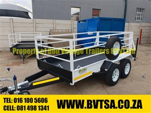 3 Meter Double Axle Utility Trailer For Sale.