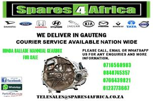 HONDA BALLADE MANUAL USED GEARBOX FOR SALE