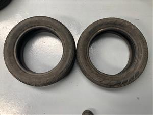 Tyres 165/60/14 Firestone.