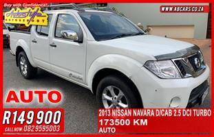2013 Nissan Navara 2.5dCi double cab LE automatic