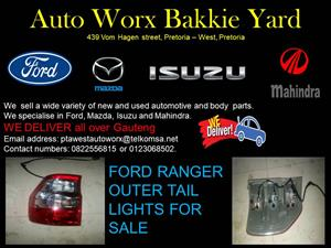 FORD RANGER OUTER TAIL LIGHTS FOR SALE
