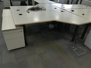 L-Shaped Office/Home Desk
