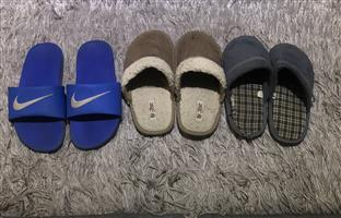 Nike Sandal + 2 pairs slippers