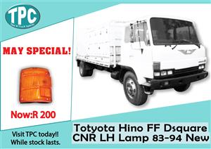 Toyota FF Dsquare LH  CNR Lamp 83-94 New for Sale at TPC.