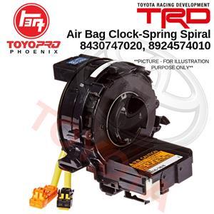 NEW Airbag Clock Spring Steering Wheel for Toyota Yaris Prius Land Cruiser Prado 8430747020 8924574010