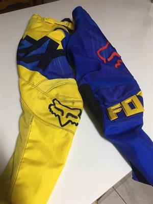 Fox 180 MX pants size 8/24