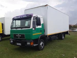 2001 MAN 10-160 truck for sale