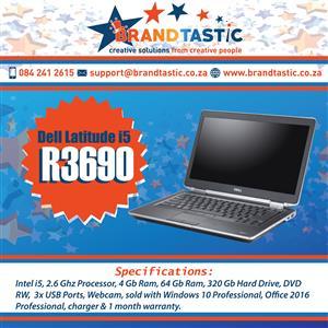 High Spec Dell Latitude i5 Laptop @ R3690