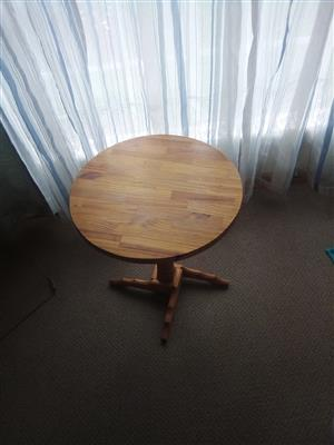Pinewood round tables