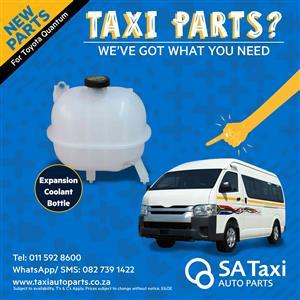 New Expansion Coolant Bottle suitable for Toyota Quantum - SA Taxi Auto Parts quality spares