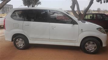 2011 Toyota Avanza AVANZA 1.3 SX