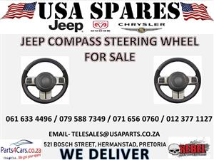 JEEP COMPASS STEERING WHEEL FOR SALE
