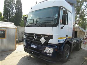 Mercedes Benz Actros V8, 2650 Mechanical Horse - ON AUCTION