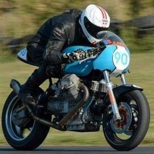 Moto Guzzi Track bike