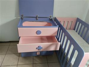 Court bed and a matching drawer