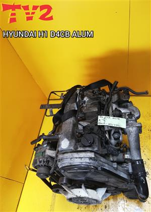 HYUNDAI- H1 D4CB ALUMINUM TOP (ENGINE FOR SALE)