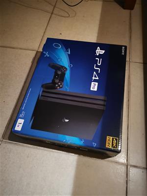 Sony PS4 pro 1tb sealed