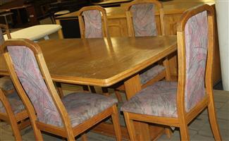 8 piece dining room set S031374A #Rosettenvillepawnshop