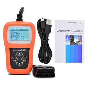 VAG505 Diagnostics Scanner -It supports VW, AUDI, SKODA and SEAT.