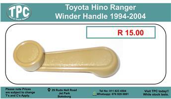 Toyota Hino Ranger Winder Handle 1994-2004 For Sale.