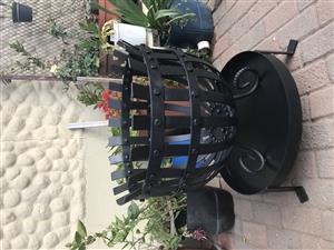 Beautiful Roman Styled Fire Baskets