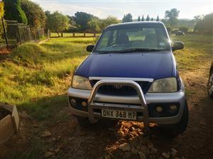 2001 Daihatsu Terios 1.5 4x4 Off road